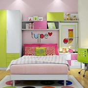 色彩丰富儿童房效果图