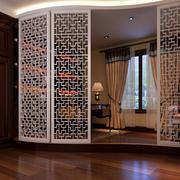 现代简约风格精致室内客厅镂空隔断装修效果图