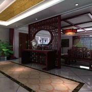 现代中式风格客厅装修