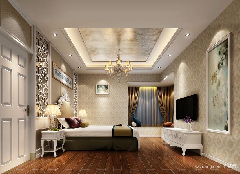 2016经典的大户型卧室室内设计装修效果图鉴赏