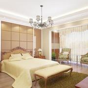 小户型精美欧式卧室室内装修效果图欣赏
