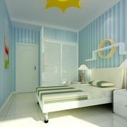 2016别墅欧式儿童房室内设计装修效果图欣赏