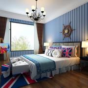 小户型地中海风格卧室室内装修效果图