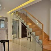 大户型现代简约风格室内楼梯装修效果图欣赏