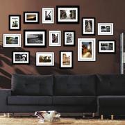 精致的大户型室内照片墙装修效果图实例