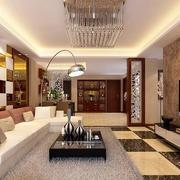 经典的小户型欧式客厅装修效果图欣赏