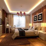 2016独特的大户型卧室设计装修效果图欣赏