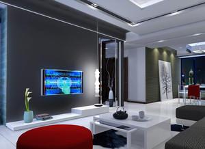 欧式小户型客厅吊顶装修效果图鉴赏