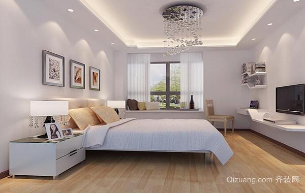 2016大户型欧式卧室背景墙设计装修效果图欣赏