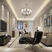 现代简约风格客厅装修
