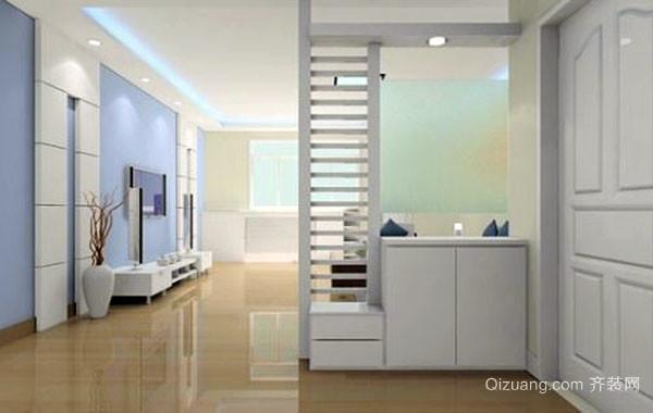 简约风格三居室进门玄关鞋柜装修效果图大全
