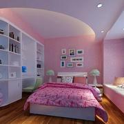 粉色儿童房装修