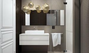 90平米极简主义风格简约时尚公寓装修效果图赏析