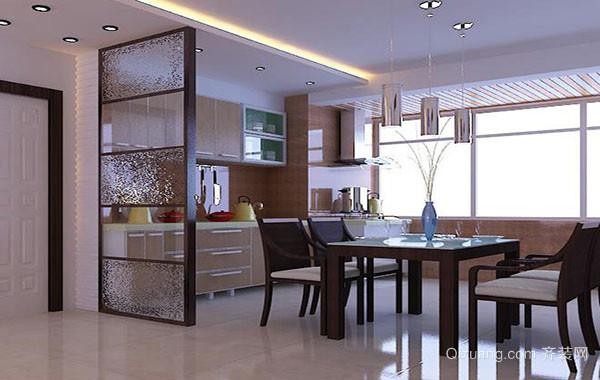 大户型现代简约风格厨房隔断装修效果图大全