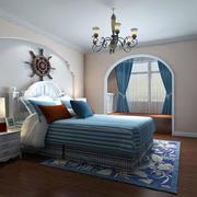 地中海风格卧室吊灯设计