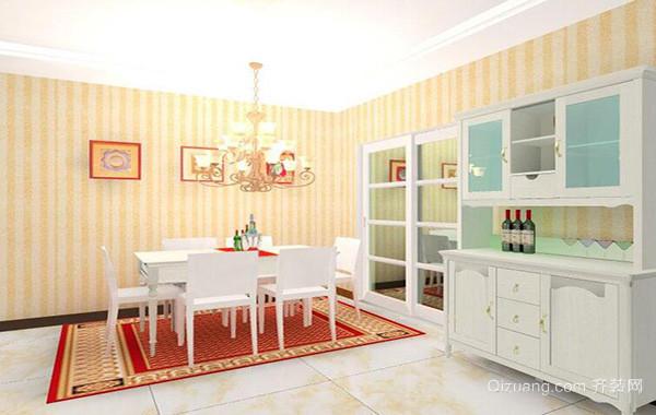 2016别墅型欧式餐厅室内设计装修效果图欣赏