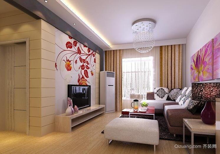 2016别墅型欧式客厅设计装修效果图欣赏