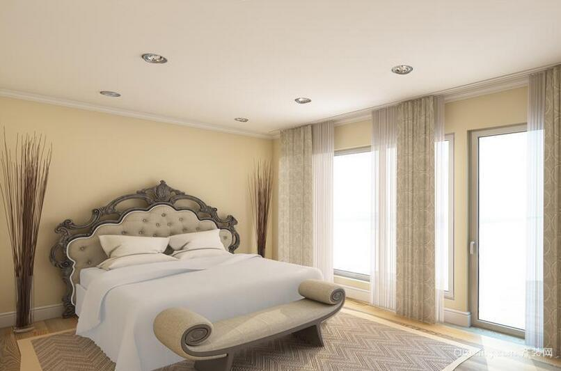 2016时尚的欧式别墅卧室装修效果图欣赏