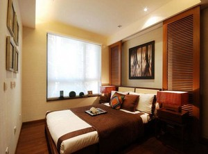 经典的别墅型欧式小卧室装修效果图欣赏