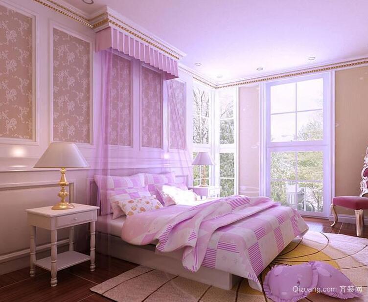 小户型现代精致卧室室内装修效果图实例