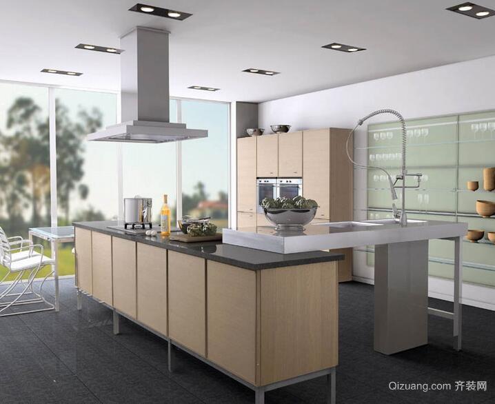 精致的小户型欧式厨房装修设计效果图实例
