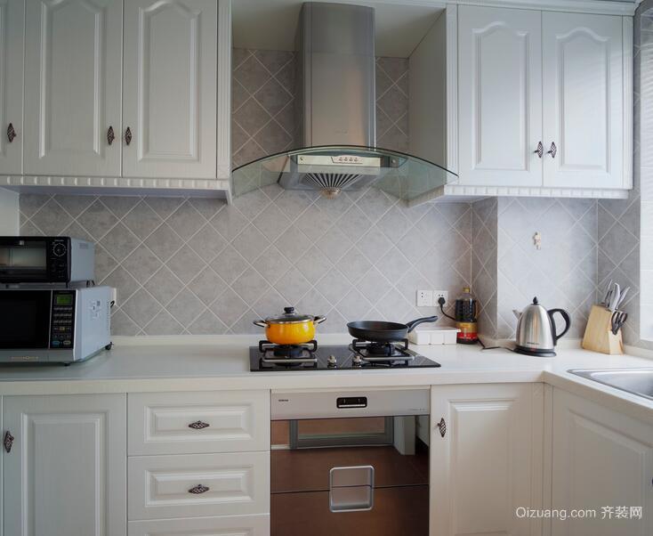 2016精致欧式厨房室内设计装修效果图欣赏