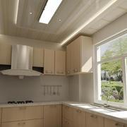 2016精致大户型现代厨房吊顶装修效果图欣赏