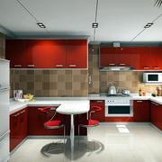 小户型经典欧式厨房室内设计装修效果图实例