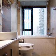 2016小户型欧式卫生间设计装修效果图欣赏