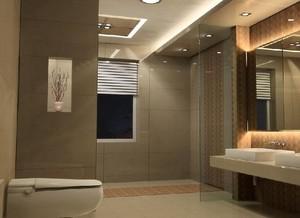 小户型欧式风格卫生间吊顶装修效果图欣赏
