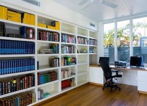 精致的大户型书房设计装修效果图欣赏