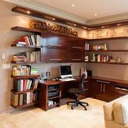 现代经典小户型书房设计室内装修效果图
