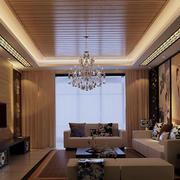 新中式风格客厅精美吊灯设计