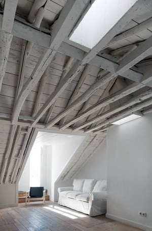北欧风格简约大户型自然舒适阁楼装修修效果图