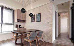 90平米时尚创意简约室内餐厅装修效果图
