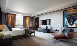 后现代风格简约创意大户型室内卧室装修效果图