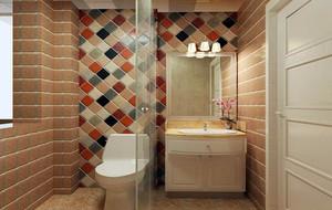 大户型简约风格室内卫生间吊顶装修效果图大全