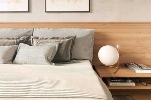 90平米北欧风格简约自然室内公寓装修效果图赏析