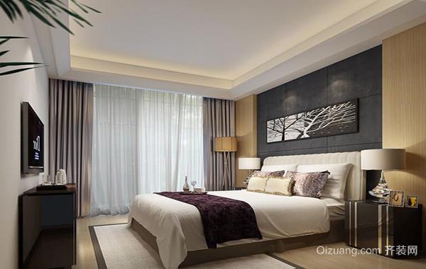 2016别墅欧式卧室背景墙装修效果图欣赏