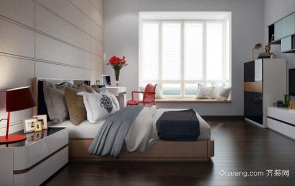 都市小清新两居室室内女生卧室装修效果图赏析