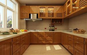 欧式厨房装修效果图