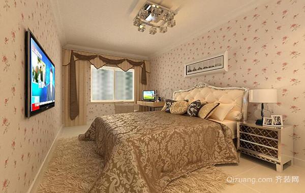 经典的大户型卧室室内设计装修效果图欣赏