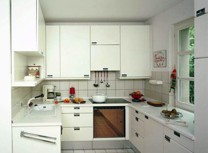 2016别墅欧式厨房室内设计装修效果图欣赏