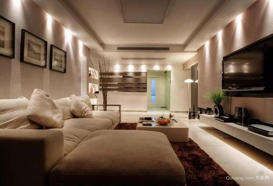 欧式小户型客厅设计装修效果图欣赏