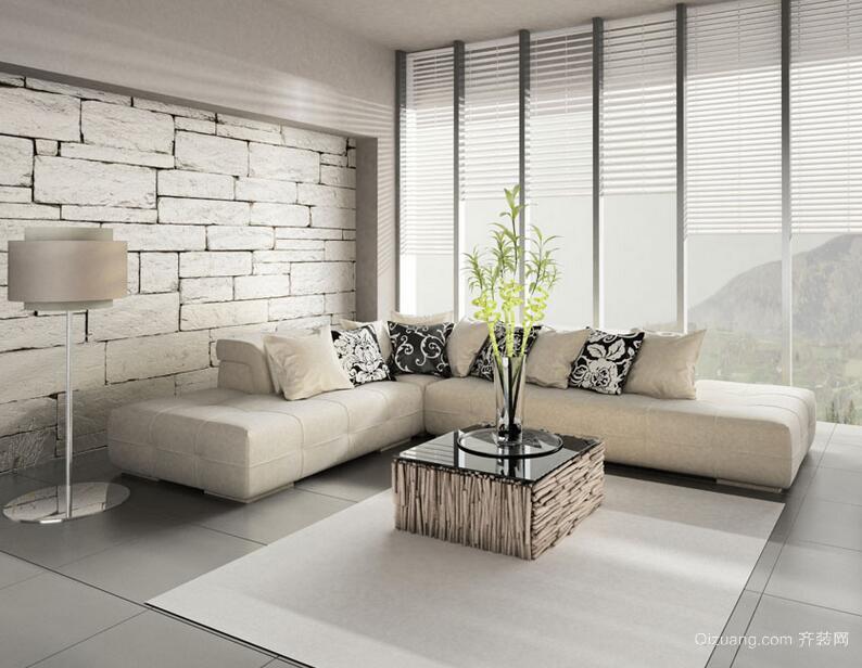 三居室欧式客厅吊顶设计装修效果图欣赏