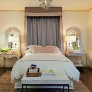 简欧风格精致大户型卧室整体设计装修效果图