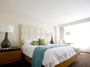别墅卧室室内背景墙设计装修效果图欣赏