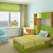 经典的现代小卧室装修效果图欣赏