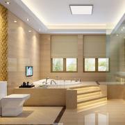 三居室欧式卫生间室内设计装修效果图