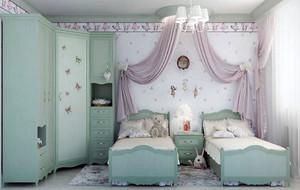 简约风格时尚大户型充满童趣儿童房装修效果图赏析